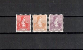Schweiz Michelnummer 98 - 100 postfrisch