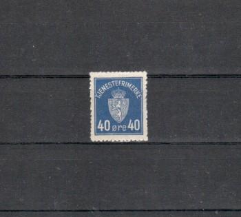 Norwegen Dienst Michelnummer 6 postfrisch