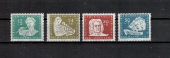 DDR Michelnummer 256 - 259 postfrisch
