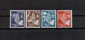 DDR Michelnummer 276 - 279 postfrisch