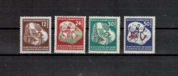 DDR Michelnummer 289 - 292 postfrisch