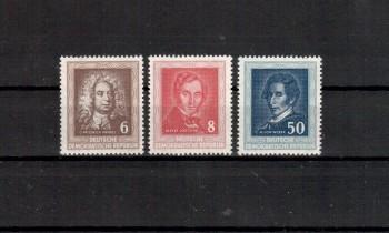 DDR Michelnummer 308 - 310 postfrisch