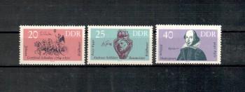DDR Michelnummer 1009 - 1011 postfrisch