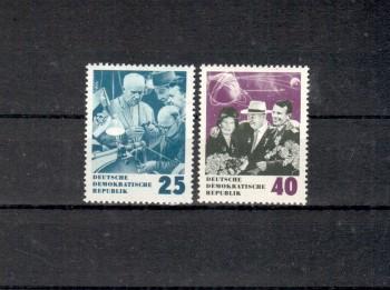 DDR Michelnummer 1020 - 1021 postfrisch