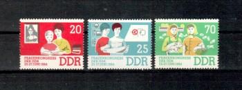 DDR Michelnummer 1030 - 1032 postfrisch