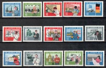 DDR Michelnummer 1059 - 1073 A postfrisch