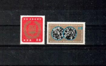 DDR Michelnummer 1115 - 1116 postfrisch