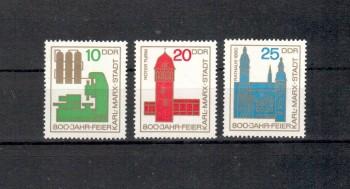 DDR Michelnummer 1117 - 1119 postfrisch