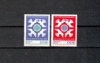 DDR Michelnummer 1122 - 1123 postfrisch