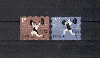 DDR Michelnummer 1210 - 1211 postfrisch