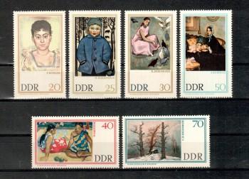 DDR Michelnummer 1262 - 1267 postfrisch