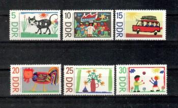 DDR Michelnummer 1280 - 1285 postfrisch