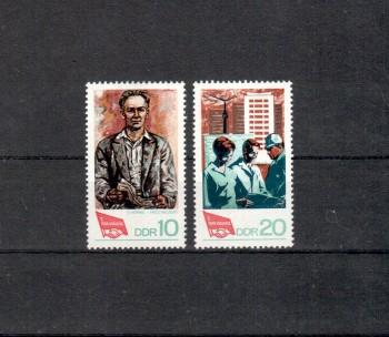 DDR Michelnummer 1363 - 1364 postfrisch
