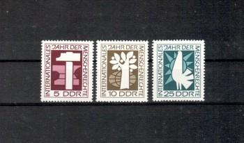 DDR Michelnummer 1368 - 1370 postfrisch