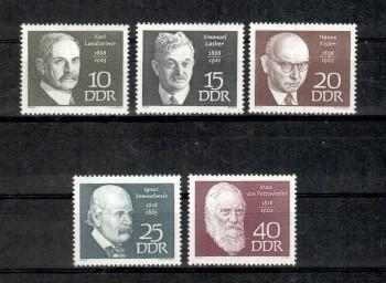 DDR Michelnummer 1386 - 1390 postfrisch