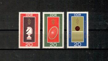 DDR Michelnummer 1491 - 1493 postfrisch
