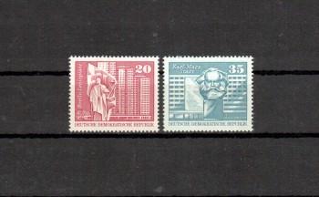 DDR Michelnummer 1820 - 1821 postfrisch