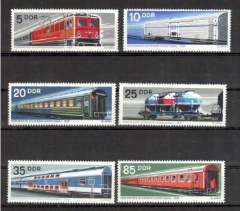 DDR Michelnummer 1844 - 1849 postfrisch