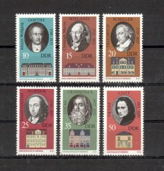 DDR Michelnummer 1856 - 1861 postfrisch