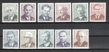 DDR Michelnummer 1907 - 1917 postfrisch