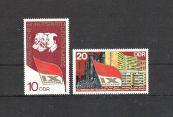 DDR Michelnummer 2123 - 2124 postfrisch