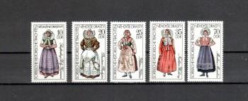 DDR Michelnummer 2210 - 2214 postfrisch