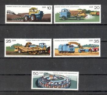 DDR Michelnummer 2236 - 2240 postfrisch