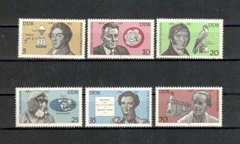 DDR Michelnummer 2492 - 2497 postfrisch