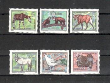 DDR Michelnummer 2522 - 2527 postfrisch