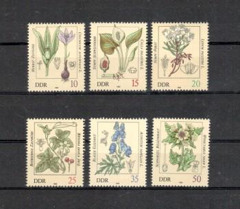 DDR Michelnummer 2691 - 2696 postfrisch