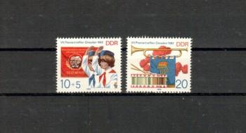 DDR Michelnummer 2724 - 2725 postfrisch