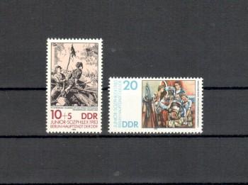DDR Michelnummer 2812 - 2813 postfrisch