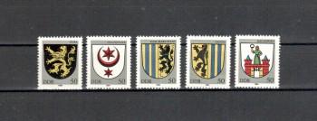 DDR Michelnummer 2857 - 2861 postfrisch