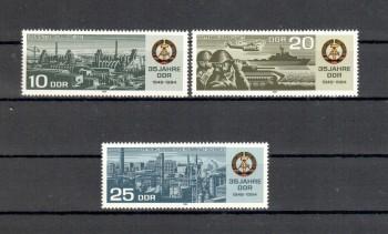 DDR Michelnummer 2893 - 2895 postfrisch