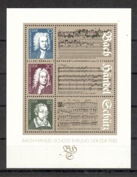 DDR Michelnummer 2931 - 2933 Block 81 postfrisch