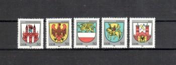 DDR Michelnummer 2934 -2938 postfrisch