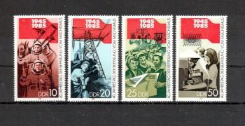 DDR Michelnummer 2941 - 2944 postfrisch