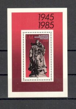 DDR Michelnummer 2945 Block 82 postfrisch