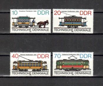 DDR Michelnummer 3015 - 3018 postfrisch