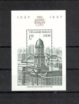 DDR Michelnummer 3027 Block 84 postfrisch