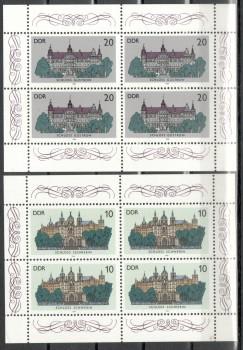 DDR Michelnummer 3032 - 3035 postfrisch