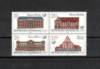 DDR Michelnummer 3067 - 3070 postfrisch
