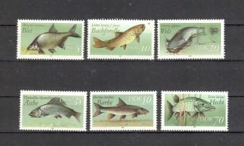DDR Michelnummer 3095 - 3100 postfrisch