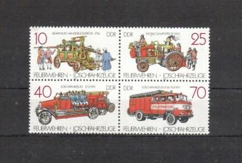DDR Michelnummer 3101 - 3104 postfrisch