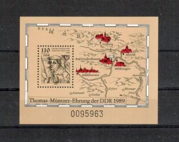 DDR Michelnummer 3237 Block 97 postfrisch