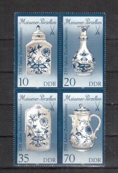 DDR Michelnummer 3241 - 3244 II postfrisch