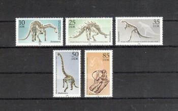 DDR Michelnummer 3324 - 3328 postfrisch