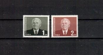 DDR Michelnummer 342a ,343 postfrisch
