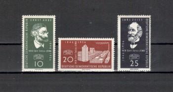 DDR Michelnummer 545 - 547 postfrisch