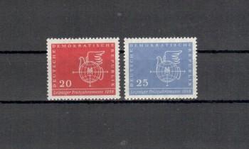 DDR Michelnummer 618 - 619 postfrisch